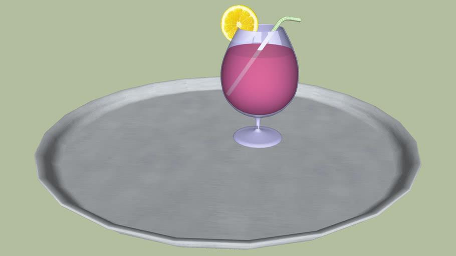 Cocktail com Bandeja