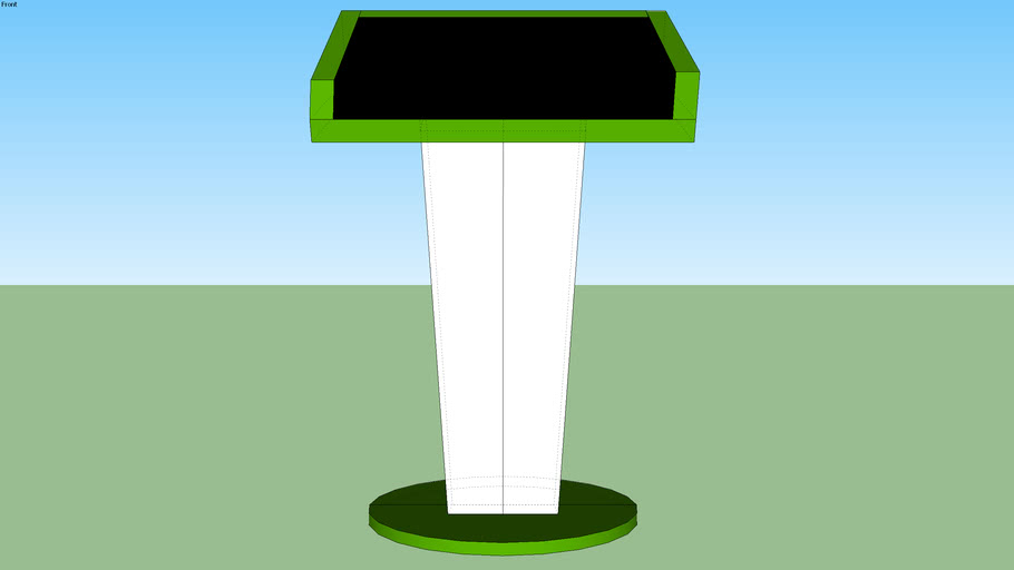 Large Lectern for Events