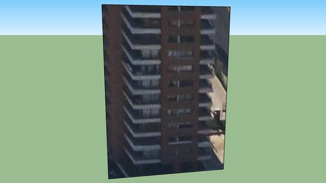 Building in Providencia, Santiago, Chile