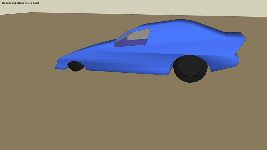 funny car Sketchy physics