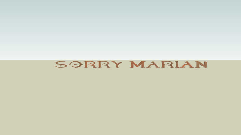 TO MARIAN