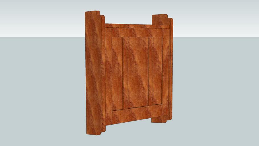 Greene & Greene Medicine Cabinet from Popular Woodworking  April 2009