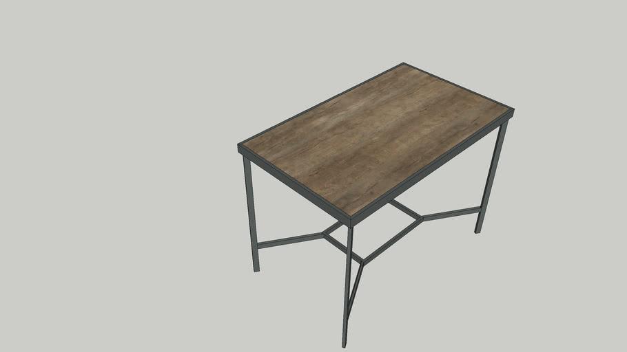 bàn chân sắt mặt gỗ