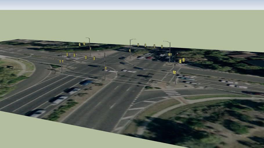 Springvale Road - Highbury Road Intersection
