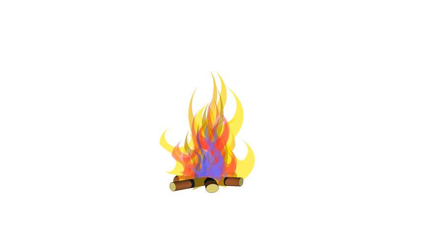 kiw openhaard vuur