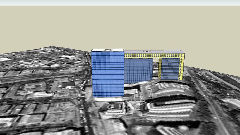 Edicio coorporativo CCU y WTC