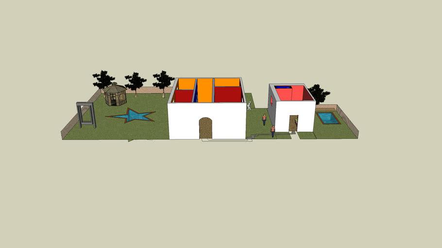 The wacky house