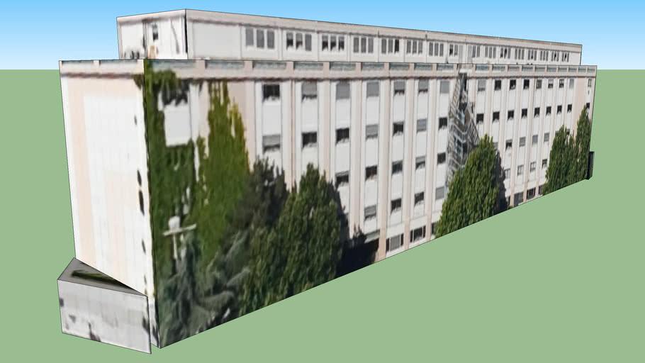 Edificio en Lyon, Francia