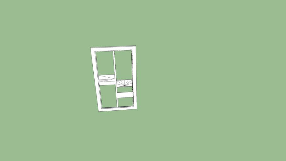 window 2X1 meters
