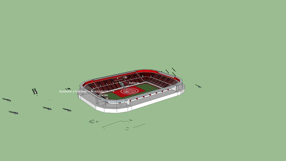 Estadio nuevo inventado