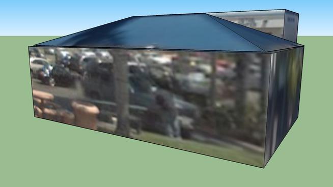 Car Wash & Waxing Canopy, HB, CA, USA