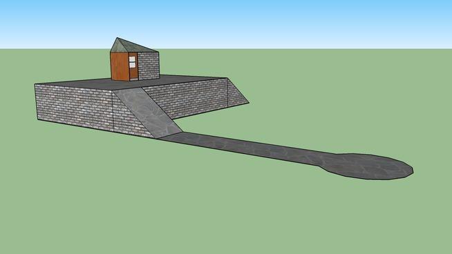 House w/walkway