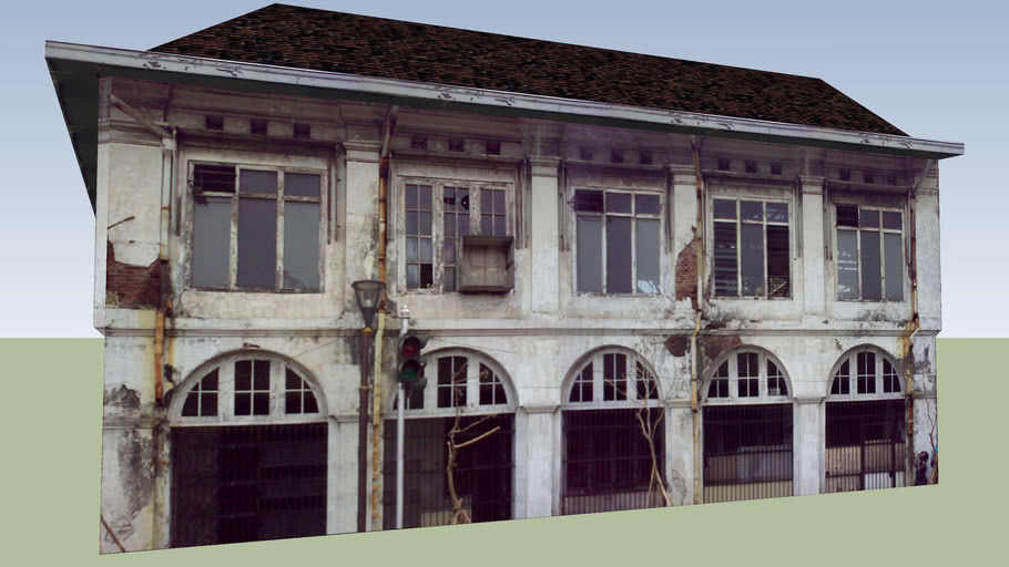 Corner Building Kali Besar and Kunir