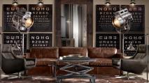 decoraçao industrial bar