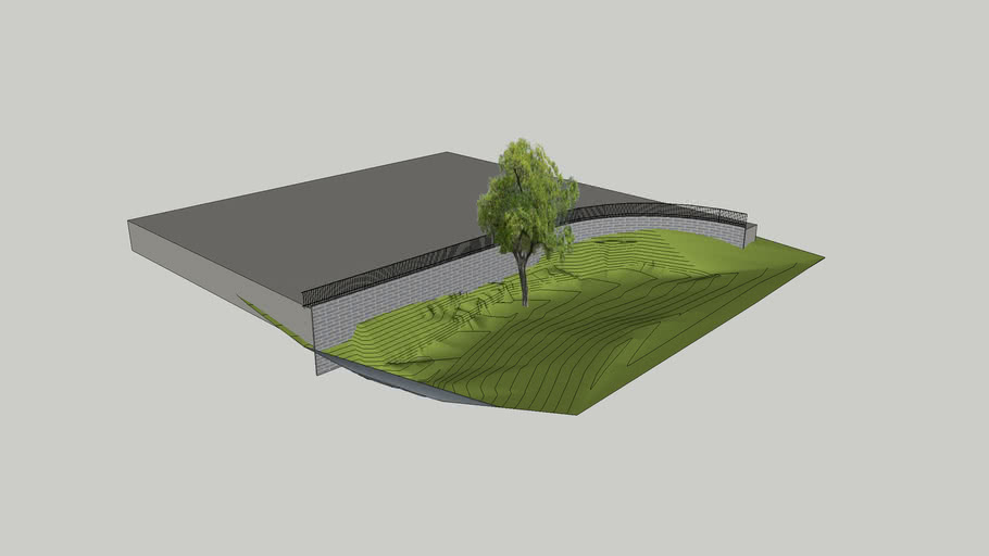 Retaining wall concept 2