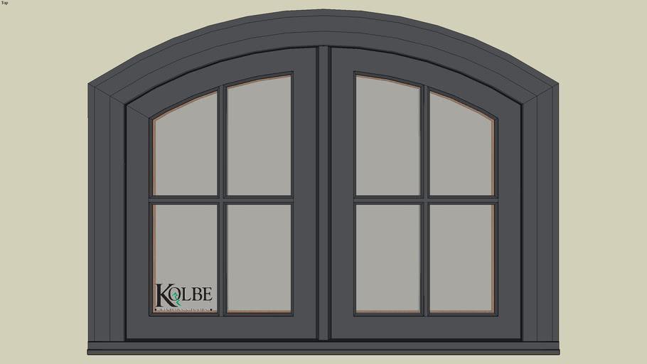 """Kolbe Ultra Segment Head Casement KUN226-SEG (F.S. 3'-4"""" x 2'-6"""" R.O. 3'-4 1/2"""" x 2'-6 1/2"""")"""