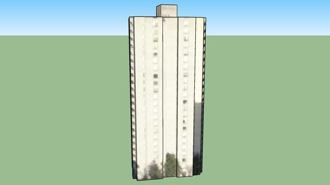 温哥华英属哥伦比亚加拿大的建筑模型