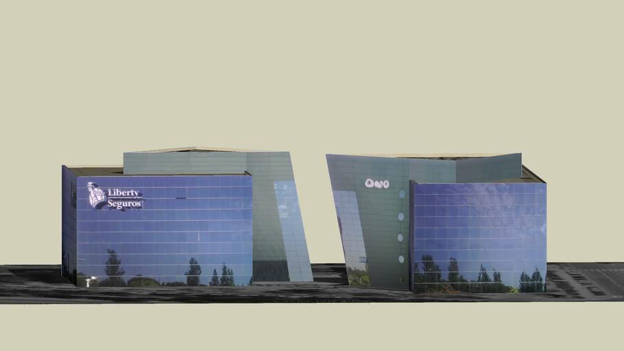 edificio de ONO y Liberty seguros, MADRID