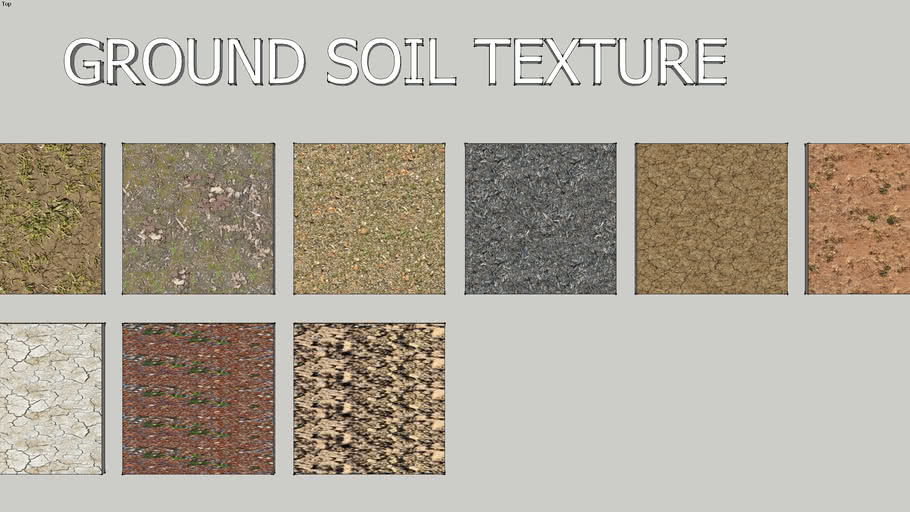 Ground Soil Texture 3d Warehouse