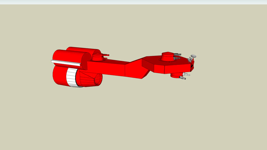 Armored smuggling starship