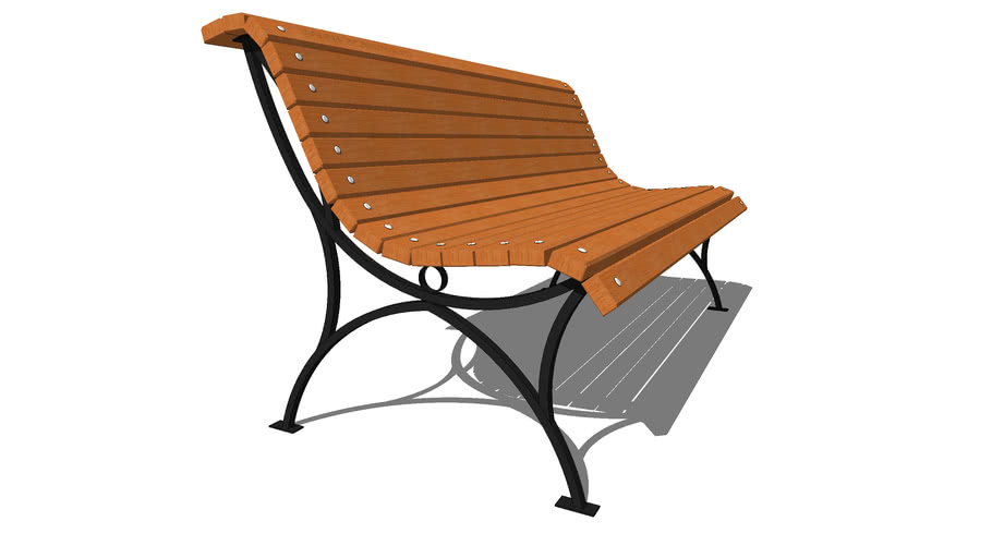"""Садово-парковая скамейка «Мой Парк NOVA» / Garden park bench """"My Park NOVA»"""