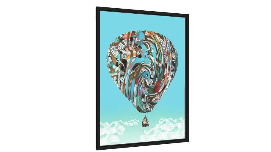 Quadro Balão Digital - Galeria9, por Matheus Furtado Desenhista