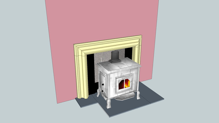 Charles fire place