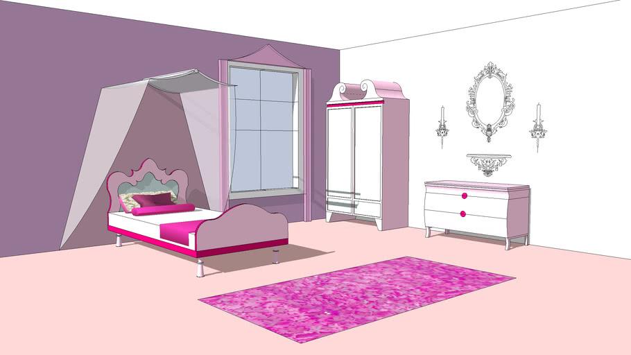 Kitsch bedroom