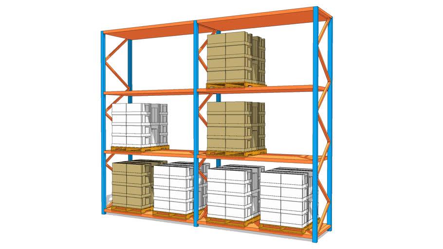 Large Pallet Store Unit 卡板貨架