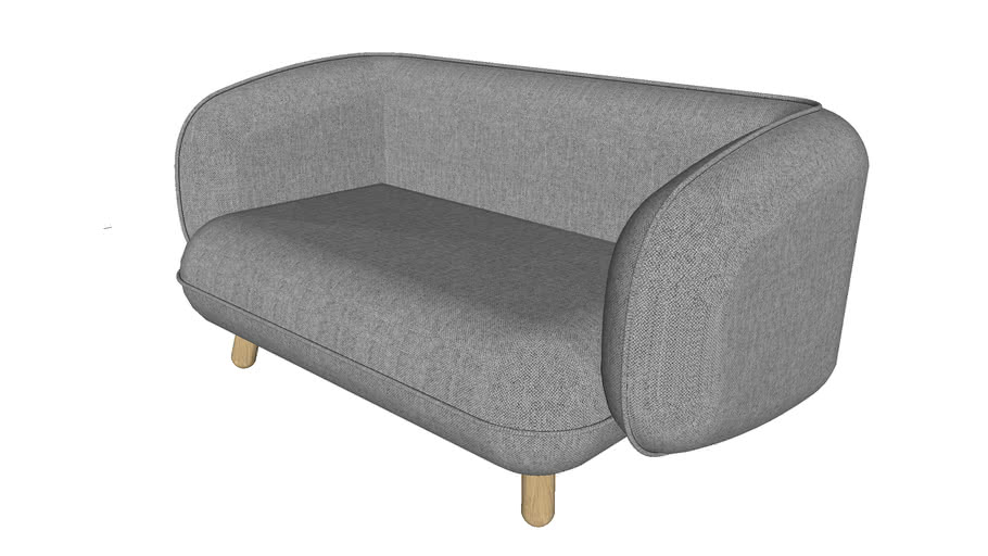 Basset 2-seater sofa | jot.jot
