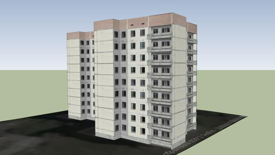 Общежитие №21 (г. Припять).