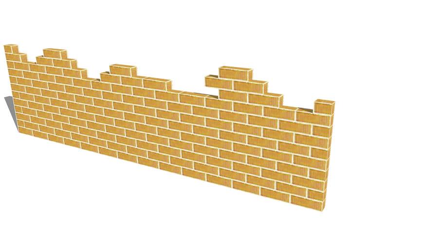 High Brick Warzone Wall