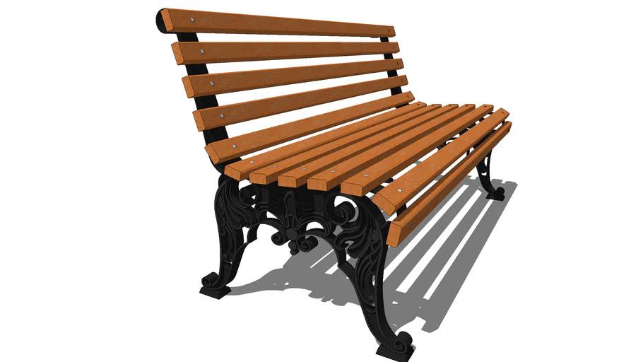 """Скамейка парковая """"Белые ночи"""" / Park bench """"White Nights"""""""