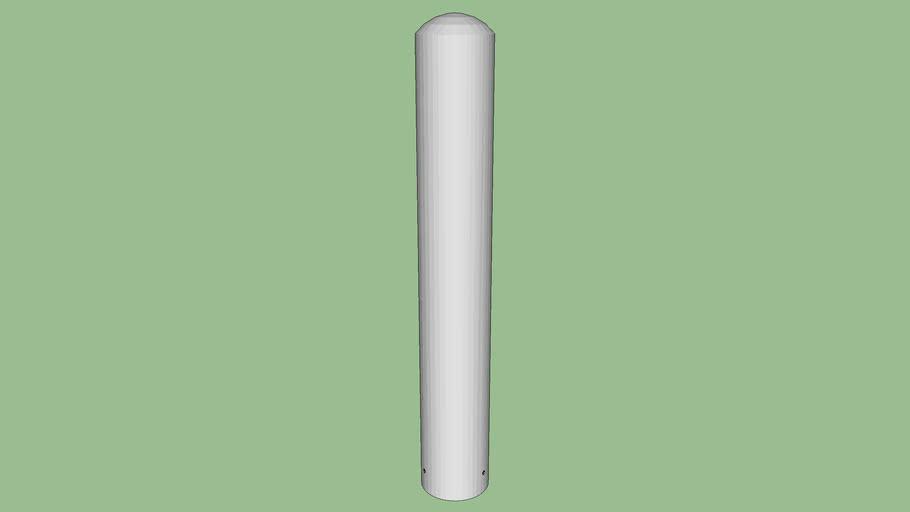 R-7301-EX stainless steel bollard cover