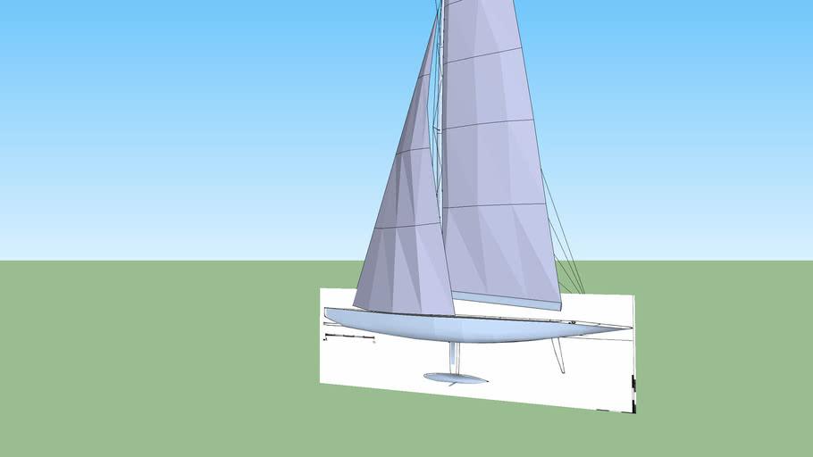 Nick Berg Sail Boat