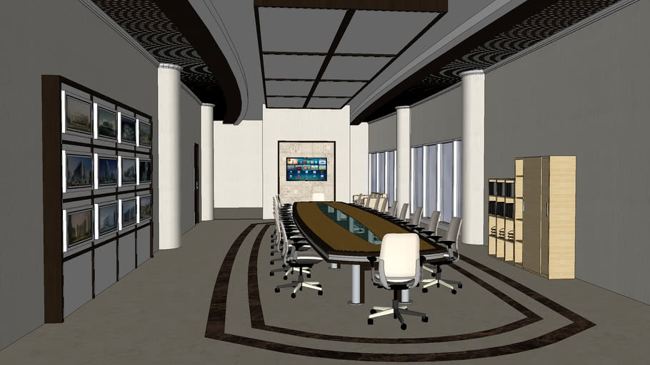 Conference Room Interior Design 3d Warehouse