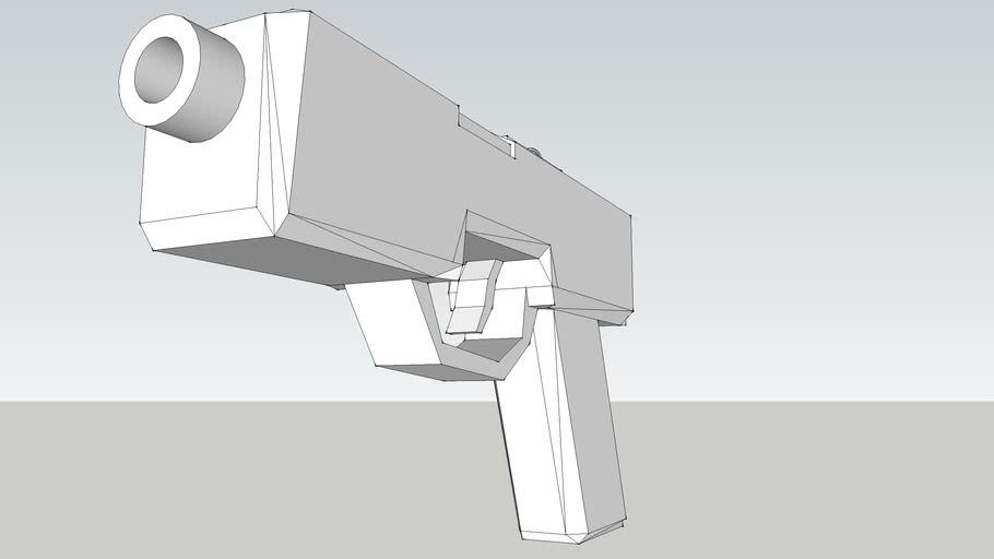 "Poor Model of the C&C Renegade ""Falcon"" Pistol"