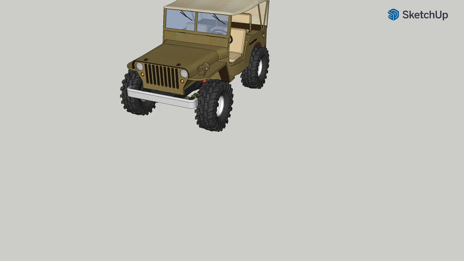 Lifted Willys Jeep