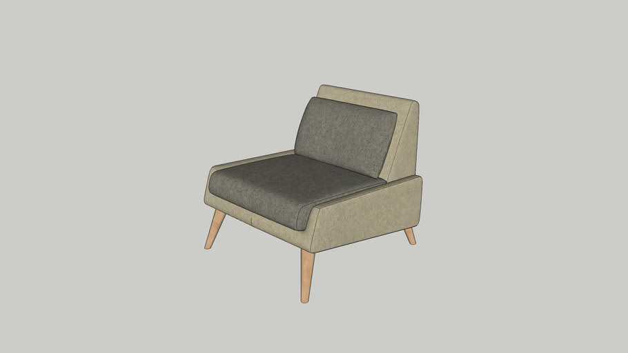 Davis lounge chair W