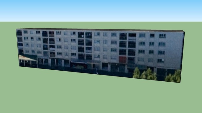 Construção em Marselha, República Francesa
