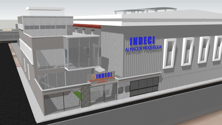 Almacen INDECI DDI - Moquegua 3D