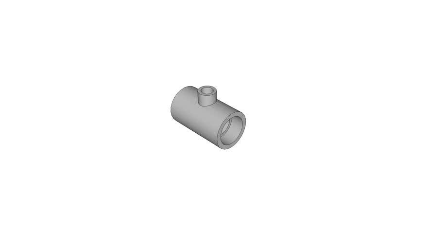 AGRU_25055502007_PE 100 schwarz_T-Stueck reduziert_50/20 - MOP 16 bar_105