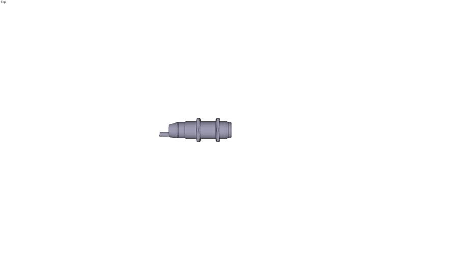 Photo-electric sensors OSIRIS Design Ø 18...Along case axis Output PNP Pre-cabled 2m