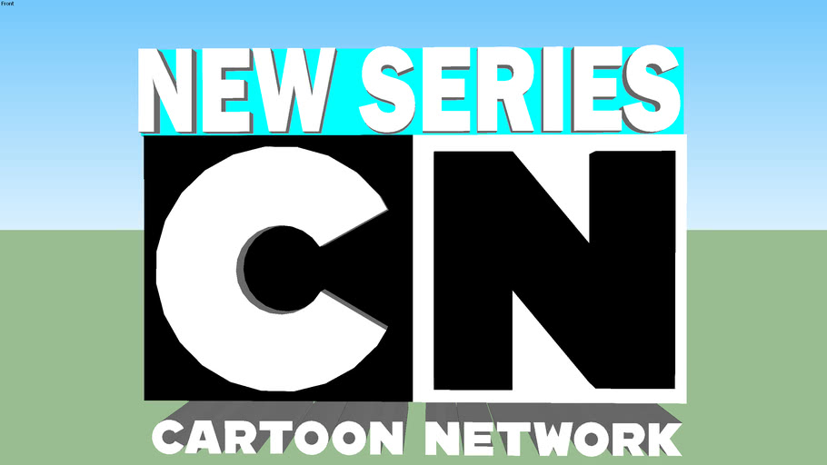 New Series And New Episode Cartoon Network Logo   3D Warehouse