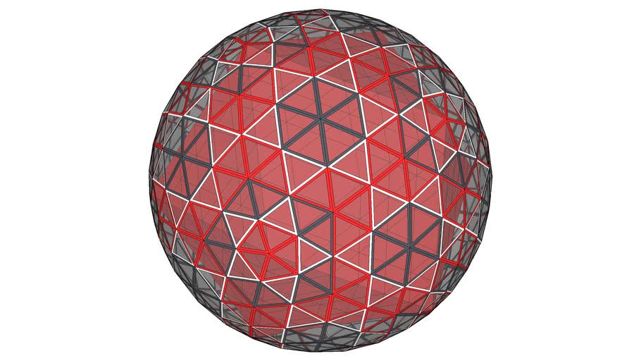 BiMUp 5D - Geodesic Sphere 6V 01
