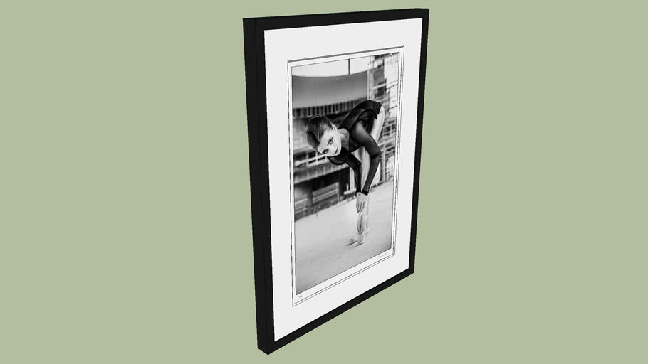 "BRODZIAK ""Ballerina #09"" 53x71 cm - Black&White, Photography, Image, Picture"