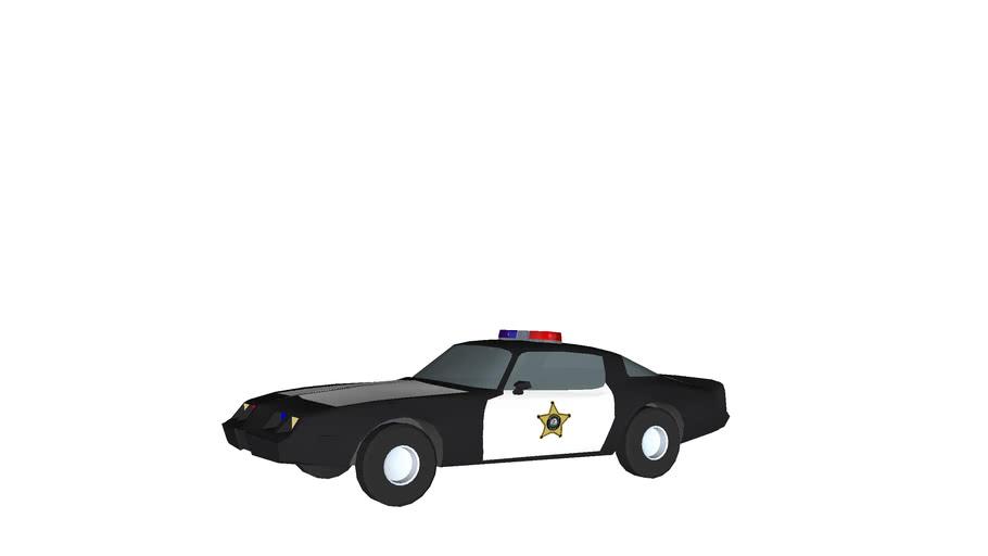 Brookfeild Police Fantasy Pontiac firebird