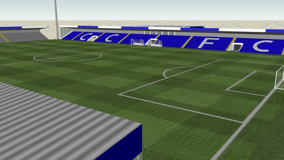 The Deva Stadium - Home of Chester City F.C.