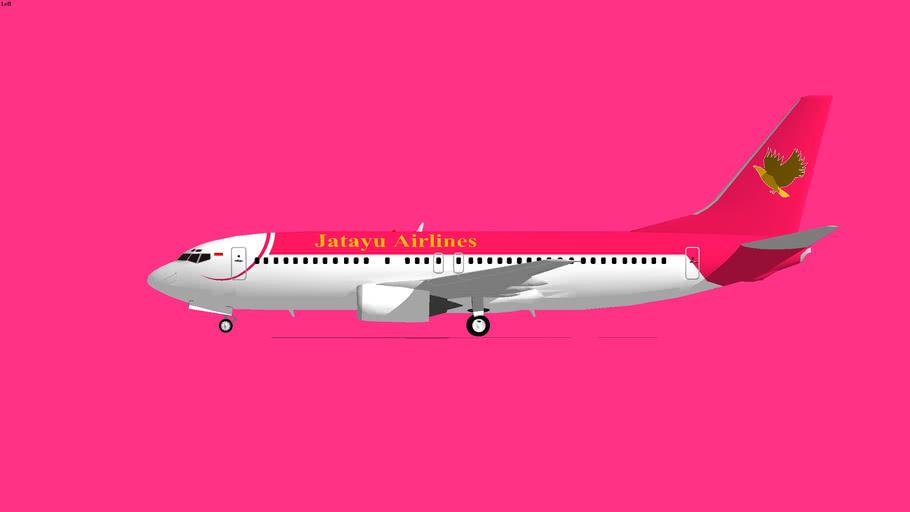 Jatayu Airlines Boeing 737-400 1