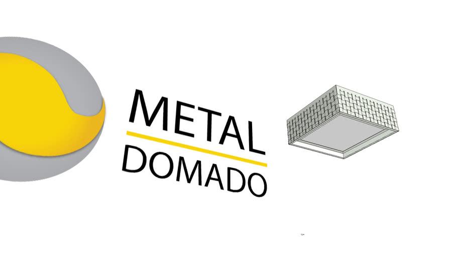 Plafon Metaldomado Entrelace 3